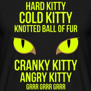 Hard Kitty Cold Kitty T-Shirts - Men's T-Shirt