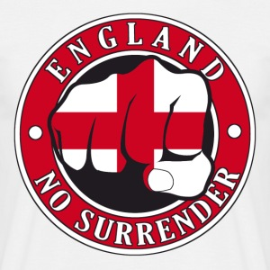 England No Surrender Fist - Men's T-Shirt
