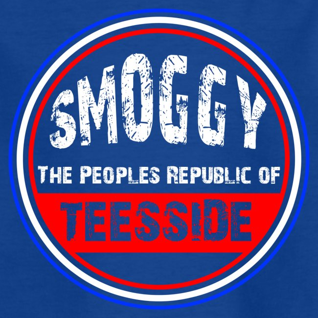 Kids Smoggy T-Shirt - Blue