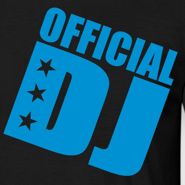 official DJ T-Shirts - Men's T-Shirt