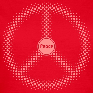 Peace / Frieden / Paix / Pax (positiv, SVG) Shirt - Frauen T-Shirt