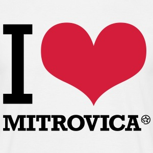 I LOVE MITROVICA Tee shirts - T-shirt Homme