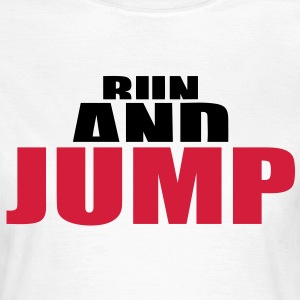 Parkour hurdles basketball high jump Traceur T-Shirts - Women's T-Shirt