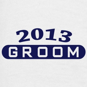 Groom 2013 T-shirts - T-shirt herr