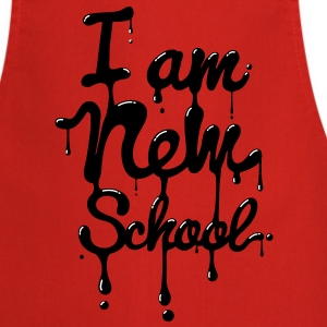 I am new school (Swag,Dope,Hipster)  Aprons - Cooking Apron