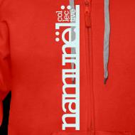 Motiv ~ Namunël zip-hoodie, rød