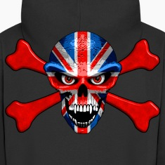 union jack skull Hoodies & Sweatshirts