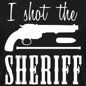 i shot the sheriff T-shirts - Mannen T-shirt