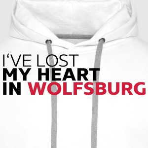 I've lost my heart in wolfsburg Pullover & Hoodies - Männer Premium Hoodie