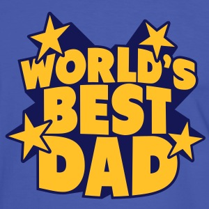 World's best Dad Camisetas - Camiseta contraste hombre