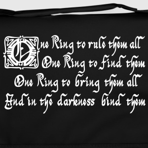 One Ring to rule them all Borse & zaini - Tracolla