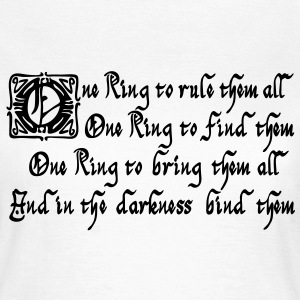 One Ring to rule them all T-Shirts - Frauen T-Shirt