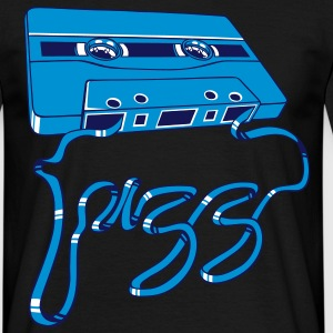 Jazz tape - Männer T-Shirt