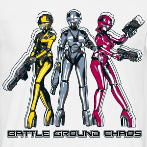 Manga Battle Ground Chaos - Männer T-Shirt