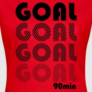 Goal in the 90 minute  T-Shirts - Women's T-Shirt