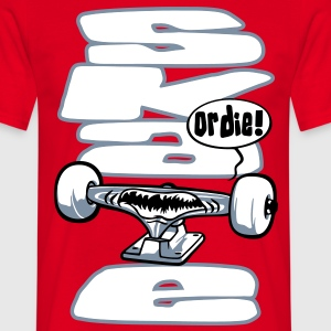 Skateboard and truck - T-shirt Homme