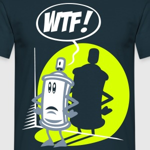 WTF spray - T-shirt Homme