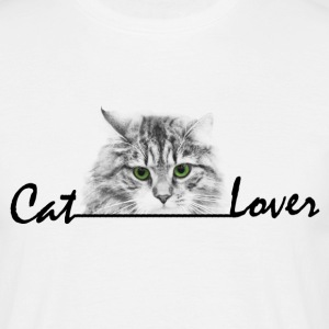 Cat Lover T-Shirts - Männer T-Shirt