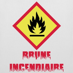 Brune incendiaire - Tote Bag