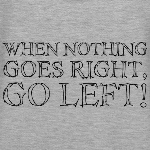 When Nothing Goes Right...Black Pullover & Hoodies - Frauen Premium Hoodie