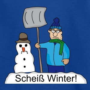 Scheiß Winter! T-Shirts - Kinder T-Shirt