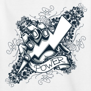 power  blitz tattoo Shirts - Kids' T-Shirt