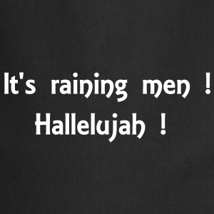 It' raining men... - Tablier de cuisine