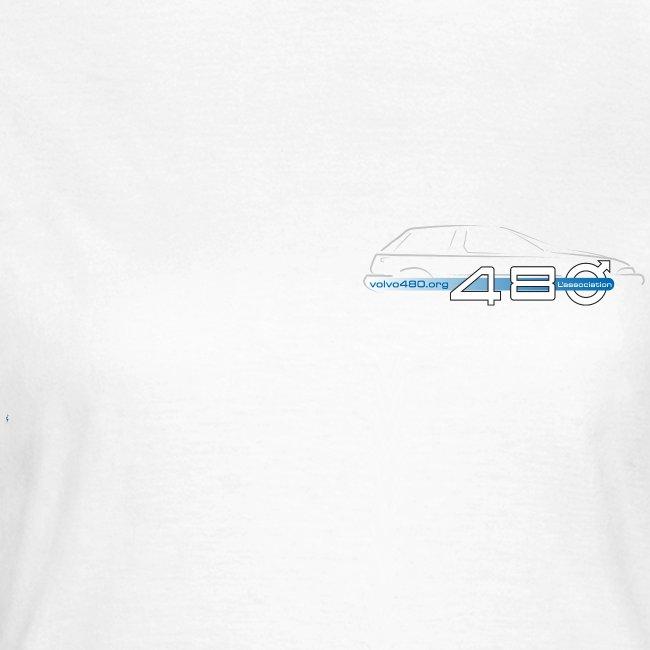 T-shirt classique femme recto-verso - Happy dream