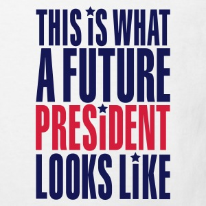 Wit This is what a future President looks like Kinder shirts - Kinderen Bio-T-shirt