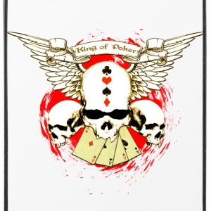 Poker Skull - Coque rigide iPhone 4/4s