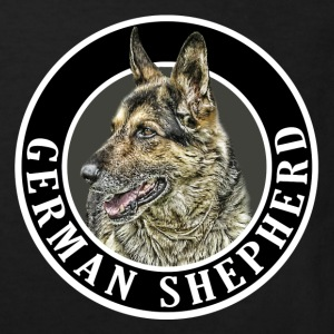 German Shepherd 002 Shirts - Kids' Organic T-shirt