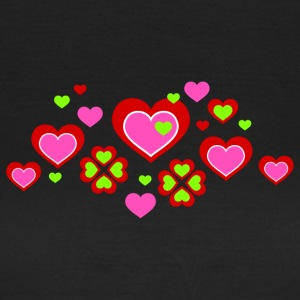 Frauenshirt Love Hearts - Frauen T-Shirt