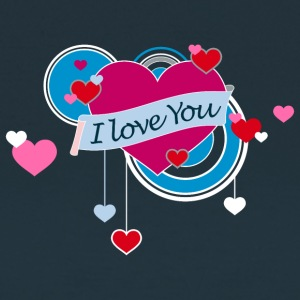 Frauenshirt I love You - Frauen T-Shirt