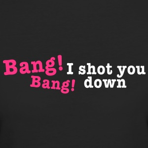 bang bang i shot you down 2c Camisetas - Camiseta ecológica mujer