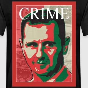 Assad Crime T-shirts - Herre-T-shirt
