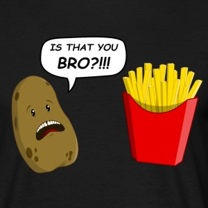 potato T-shirts - Mannen T-shirt