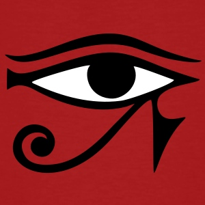 Horus eye,  protection amulet, magic & strength T- - Men's Organic T-shirt