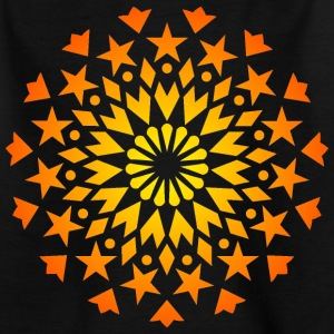 Star Explosion star sky star heart mandala Shirts - Teenage T-shirt