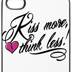 Kiss more, think less! Sonstige - iPhone 4/4s Hard Case