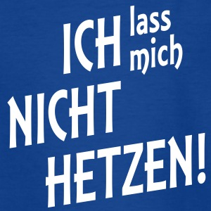 NICHT HETZEN | Teenager Shirt - Teenager T-Shirt