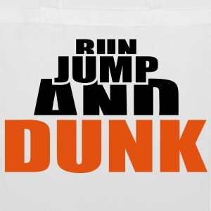 Run Jump and Dunk  Basketball Ball Dunking Borse - Borsa di stoffa
