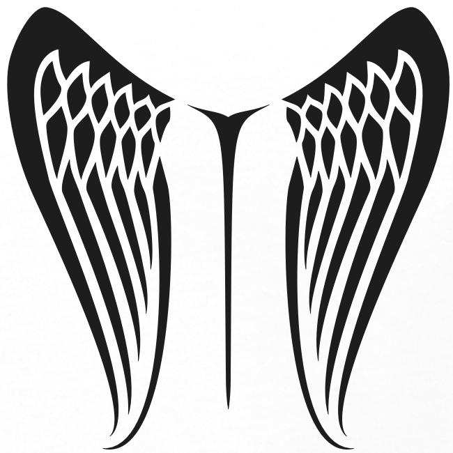 WingBeat-Black Glitter