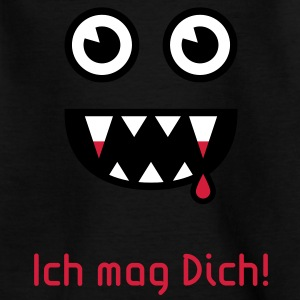 Ich mag Dich! (Vampir) T-Shirt - Teenager T-Shirt