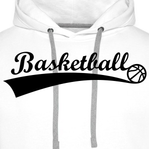 Basketball Ball *** Fan Team Logo basketball icon Hoodies & Sweatshirts - Men's Premium Hoodie