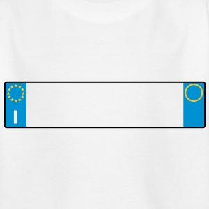 license plate Italy_g1 Shirts - Kids' T-Shirt