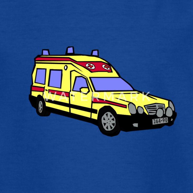 ambulans - T-shirt barn