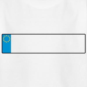 license plate europe_g1 Shirts - Kids' T-Shirt