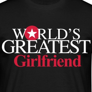 world_greatest_Girlfriend - Men's T-Shirt