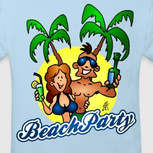 Beach party Shirts - Kids' Organic T-shirt