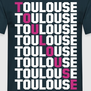 Toulouse grid Tee shirts - T-shirt Homme